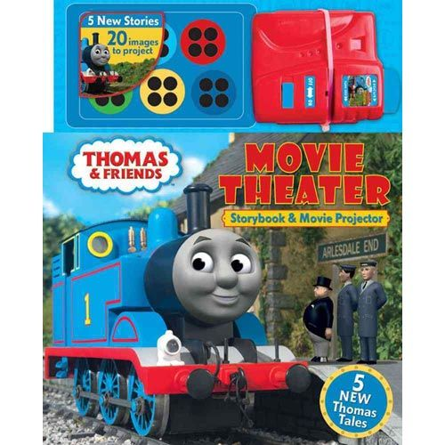 Thomas & Friends Movie Theater: Storybook and Movie Projector [With Movie Projector]