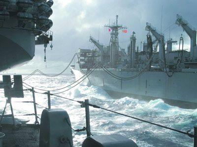 Combat Support Ship USNS Supply
