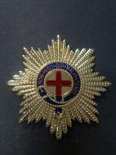 Economy Version Replica Order Of The Garter Star 2 Left Quarterdeck Medals Militaria Order Of The Garter Garter Stars