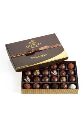 Godiva Dark Chocolate Truffles, 24-Piece Set #truffesauchocolat