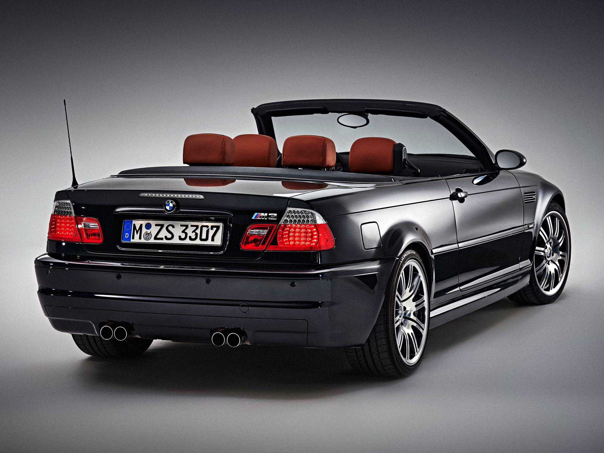 2001 06 Bmw E46 M3 Cabrio Bmw Alpina Bmw Bmw M3 Bmw E46