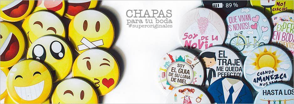 Frases Super Originales: Chapas Con Frases Baratas Para Tu Boda. ¡Super Originales