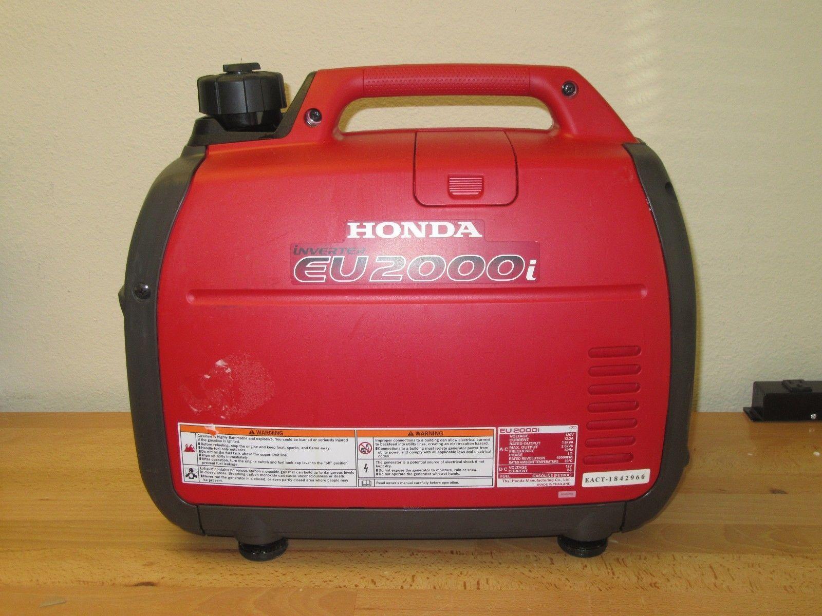 Honda EU2000I Super Quiet 2000 Watt Portable Generator with