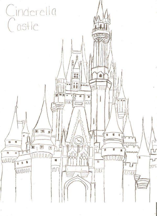 Cinderella Castle By Leaangel19 On Deviantart Castle Coloring Page Cinderella Castle Castle Clash