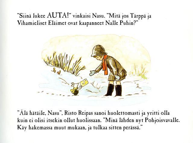 Nalle Puh Runo
