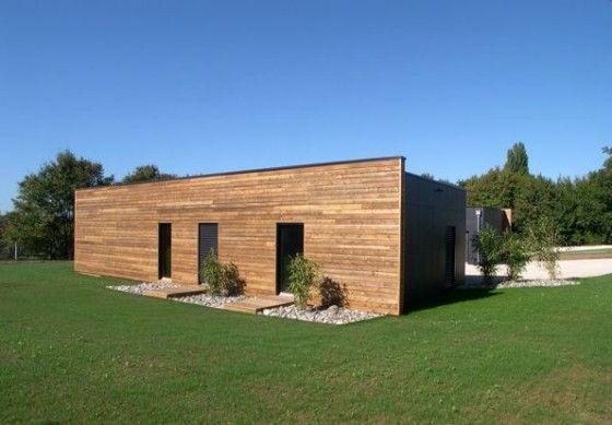 maison-ossature-bois-db-nord aménagement extérieur Pinterest