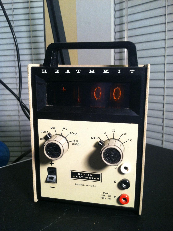 Nixie Clock I Vintage Electronics