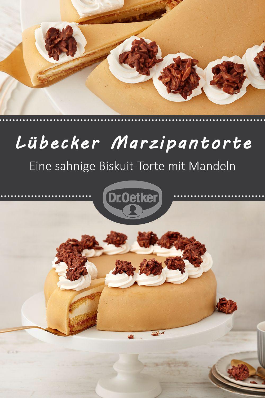 Lübecker Marzipantorte