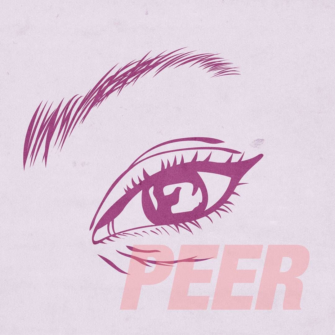 "www.alexknp.com  ""Peer.  #art #illustration #digitalart #type #typography #graphicdesign #design #drawing #eyes #texture"""