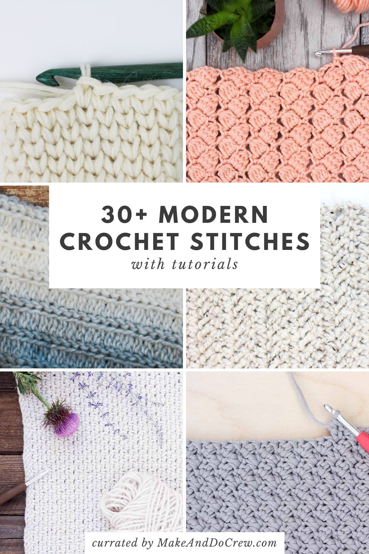 Crochet Stitches for Blankets and Afghans