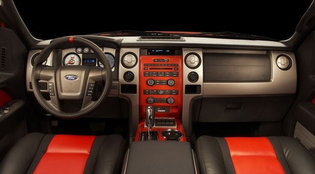 Ford F 150 Red Raptor Interior Ford Raptor Ford F150