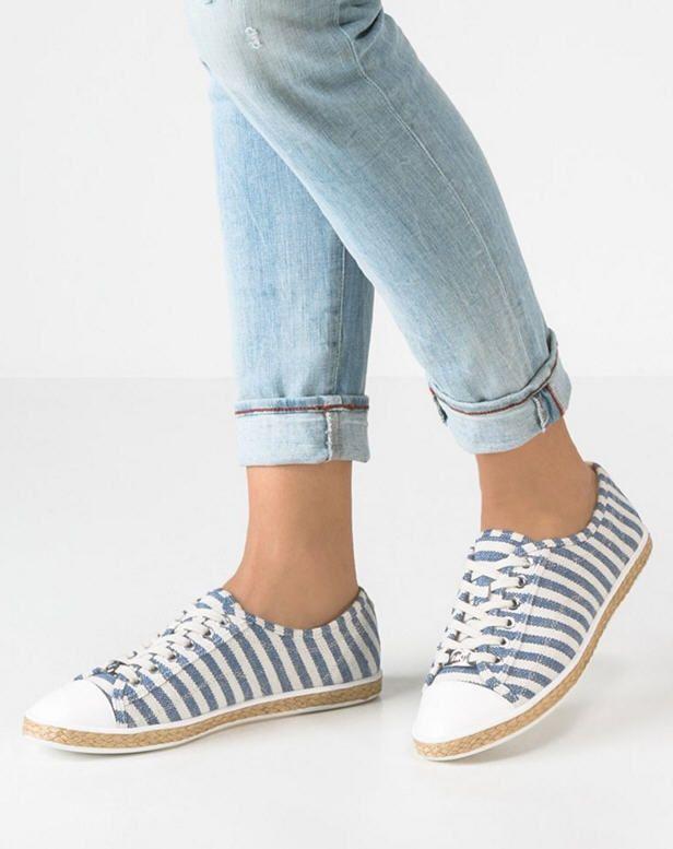 MICHAEL Michael Kors KRISTY Chaussures �� lacets nat/blue prix Baskets femme  Zalando 130.00 \u20ac