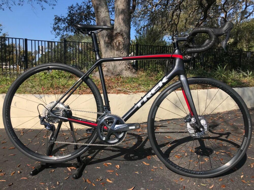 856b8545bef 2019 Trek Emonda SL7 Disc Carbon Road Bike, Size 56cm, Ultegra R8000 11  Speed