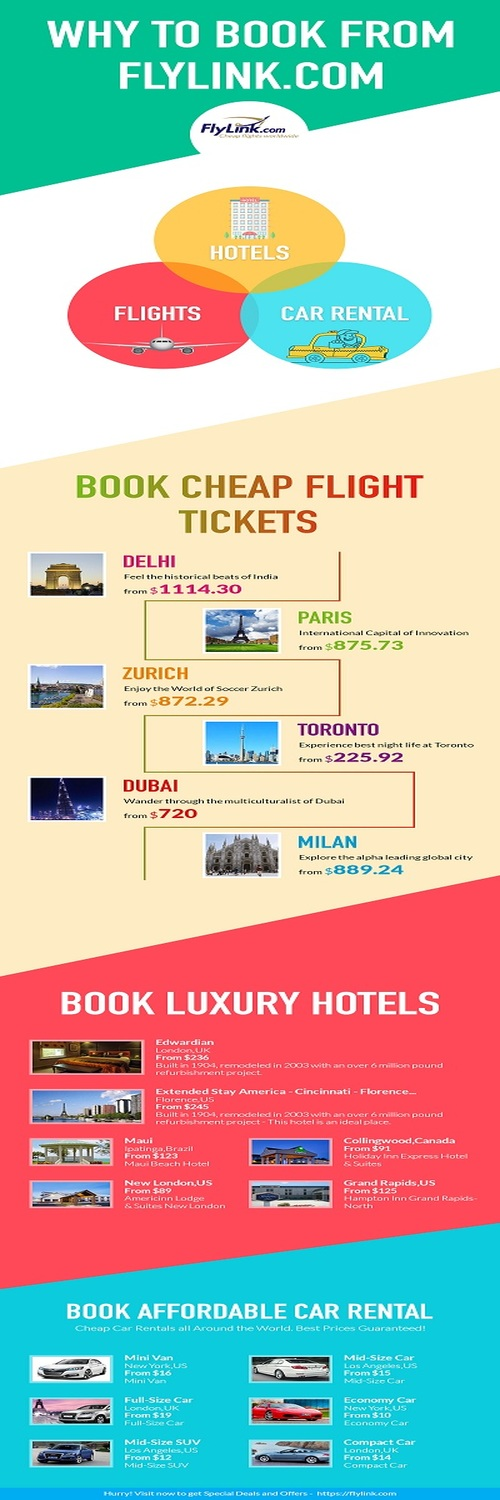 Flylink Offers Flights Car Als Hotels And Travel Insurance With Best Customer Service