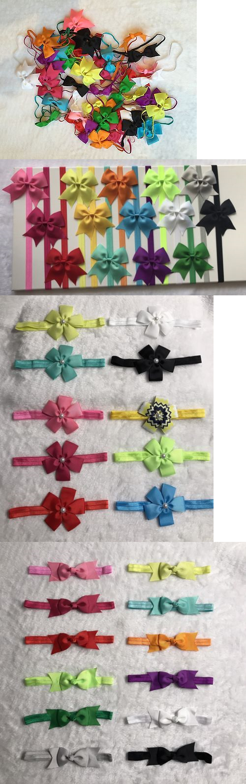 Hair accessories for babies ebay - Hair Accessories 18786 83 Pcs Mix Lots Headband Baby Infant Toddler Girls Hair Bow Headwear