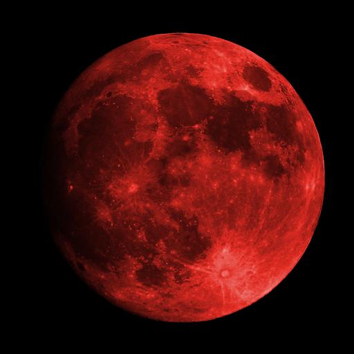 Dark Red Moon Red Aesthetic Dark Red Wallpaper Red Moon