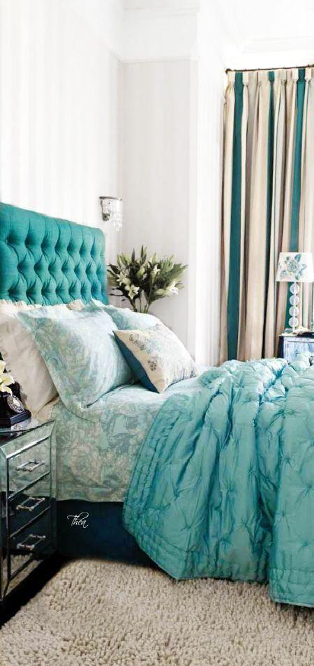 imagem2 Bedroom Pinterest Cortinas azules, Cortinas y Azul - cortinas azules