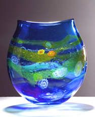Martin Andrews hand blown glass