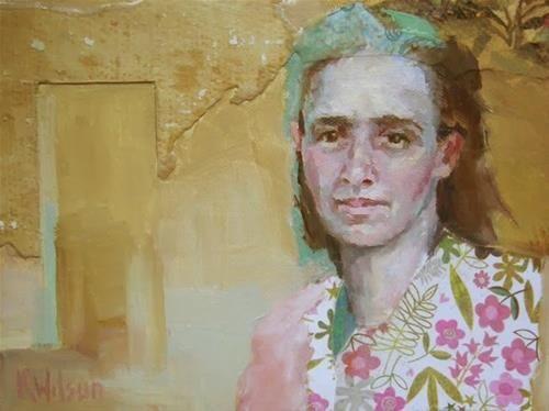"Daily Paintworks - ""Once Thru"" - Original Fine Art for Sale - © Katie Wilson"