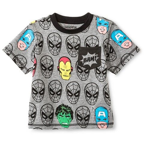 Toddler Boys  Avengers T-Shirt - Gray  4920a78dd3a
