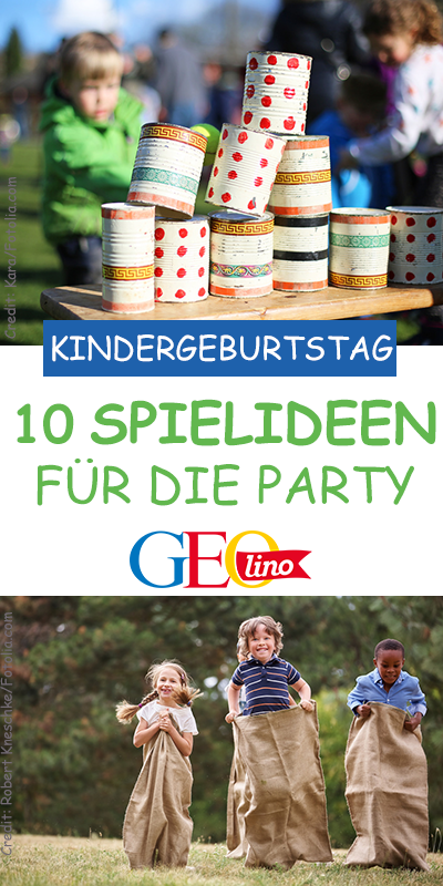 Kinderparty: Spieletipps
