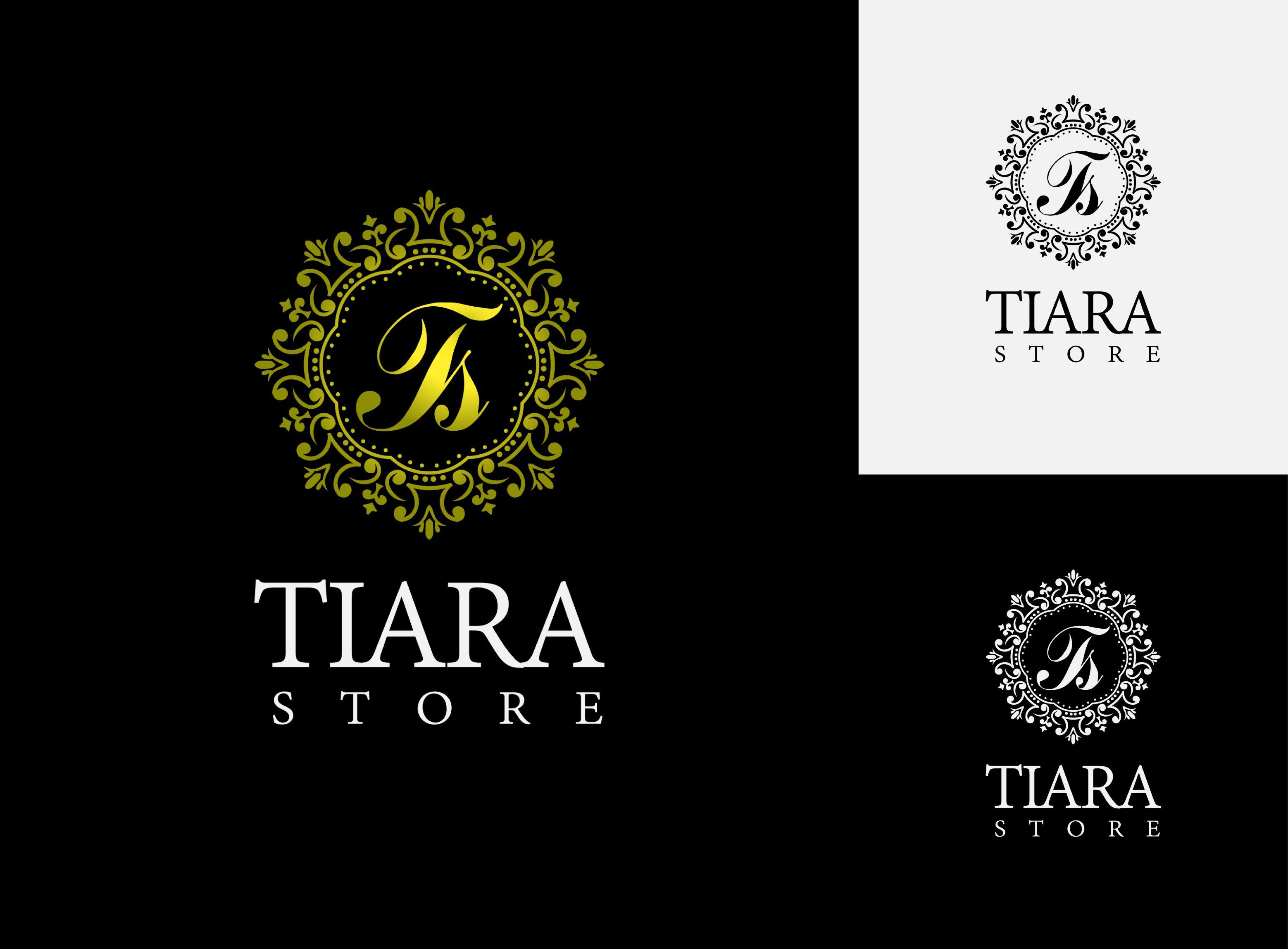 Tiara Store Premium Logo 77817 Personal Design Premium Logo Logo Branding Identity Logos