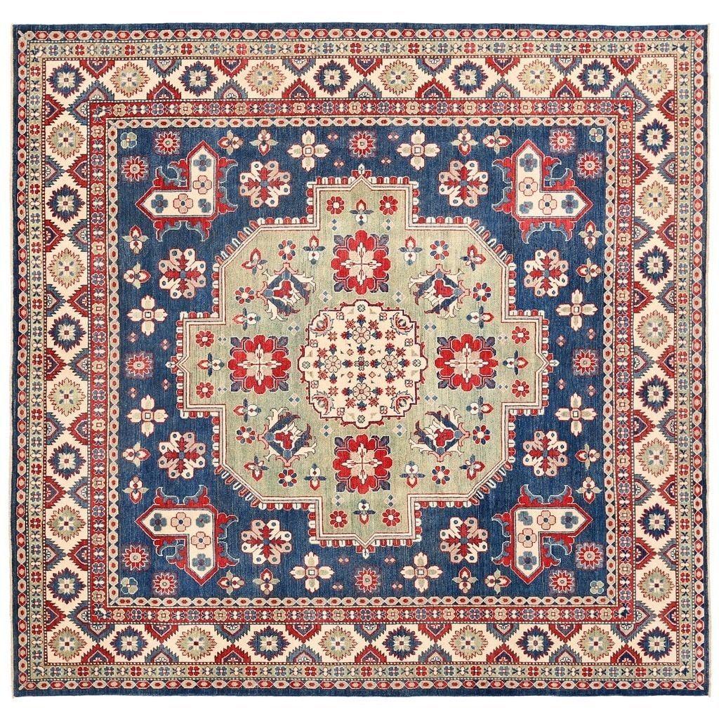 Herat Oriental Afghan Hand-knotted Vegetable Dye Kazak Rug