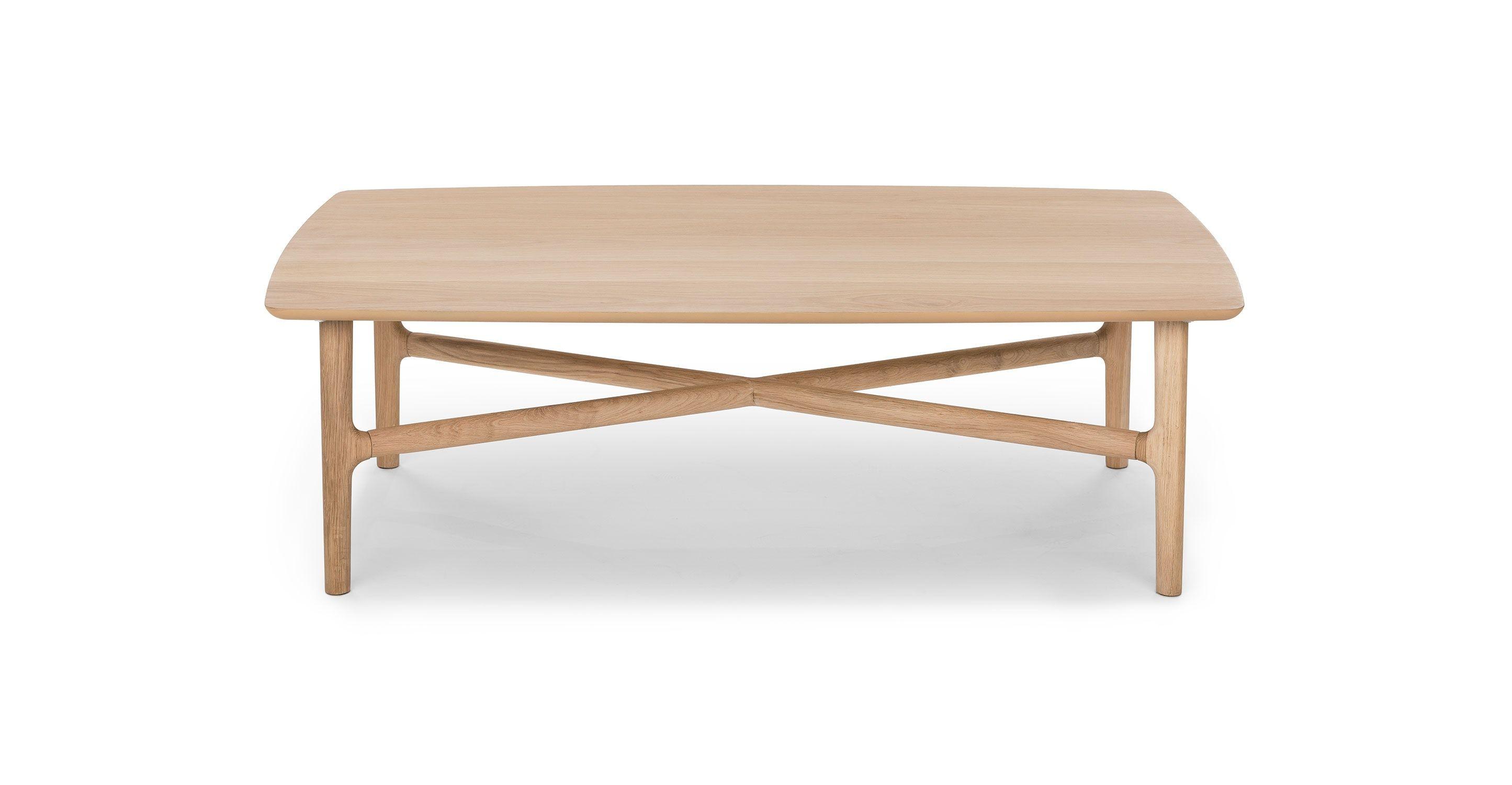 Brezza Light Oak Rectangular Coffee Table Contemporary Coffee Table Mid Century Coffee Table Oak Coffee Table [ 1500 x 2890 Pixel ]