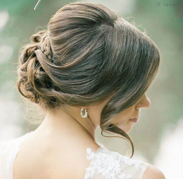 18 Creative And Unique Wedding Hairstyles For Long Hair: Frizure Za Venčanje: Najmodernije Niske Punđe Za Mladu