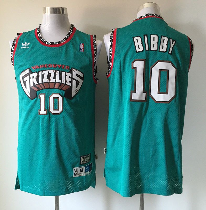 7cd1d4595bf8 ... vancouver grizzlies black jersey memphis grizzlies 10 mike bibby black  throwback stitched nba ...