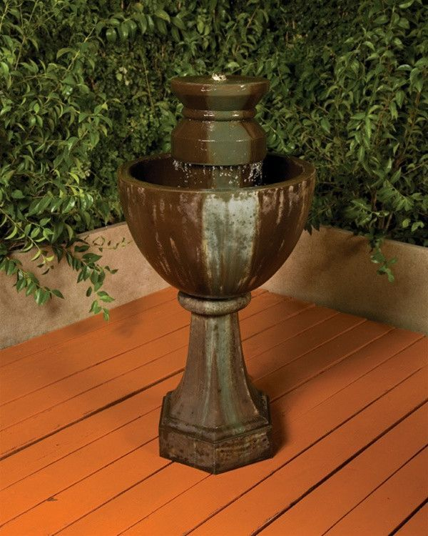 Free Shipping and No Sales Tax on the Augusta Garden Water Fountain from the Outdoor Fountain Pros.