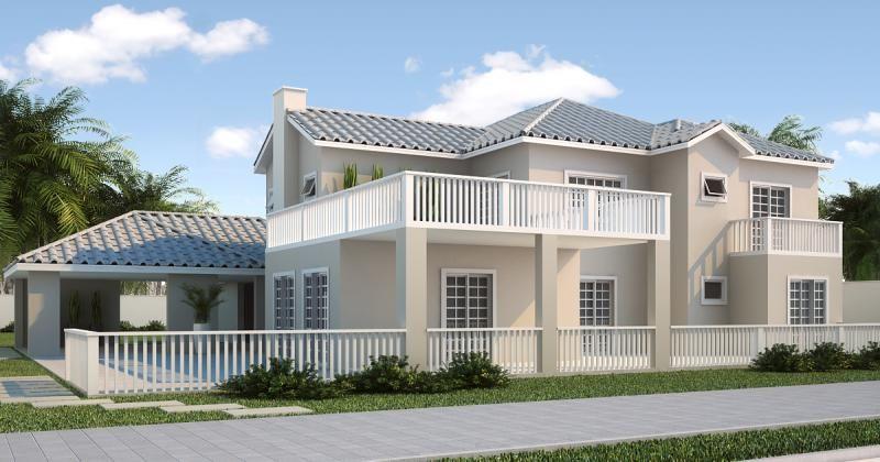 Casa Americana 8 Casa Estilo Americano Projectos De Casas Fachadas De Casas Terreas
