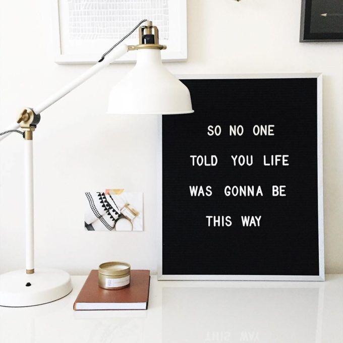 The Coolest Customizable Art: Felt Letter Boards and Black Light Boxes   Glitter, Inc.