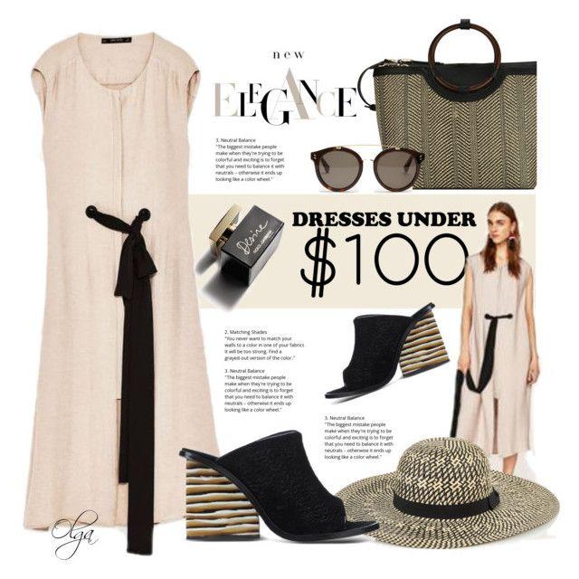 D g black dress zara