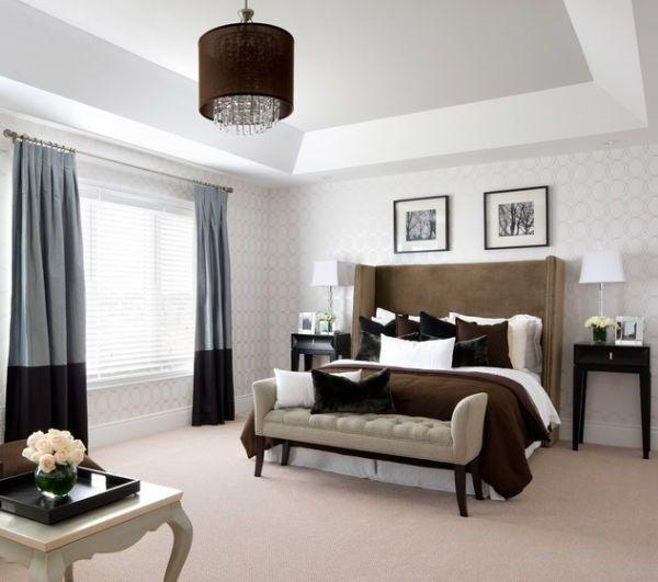 anspruchsvolle schlafzimmer mit sitzbank | schlafzimmer ... - Sitzbank Für Schlafzimmer