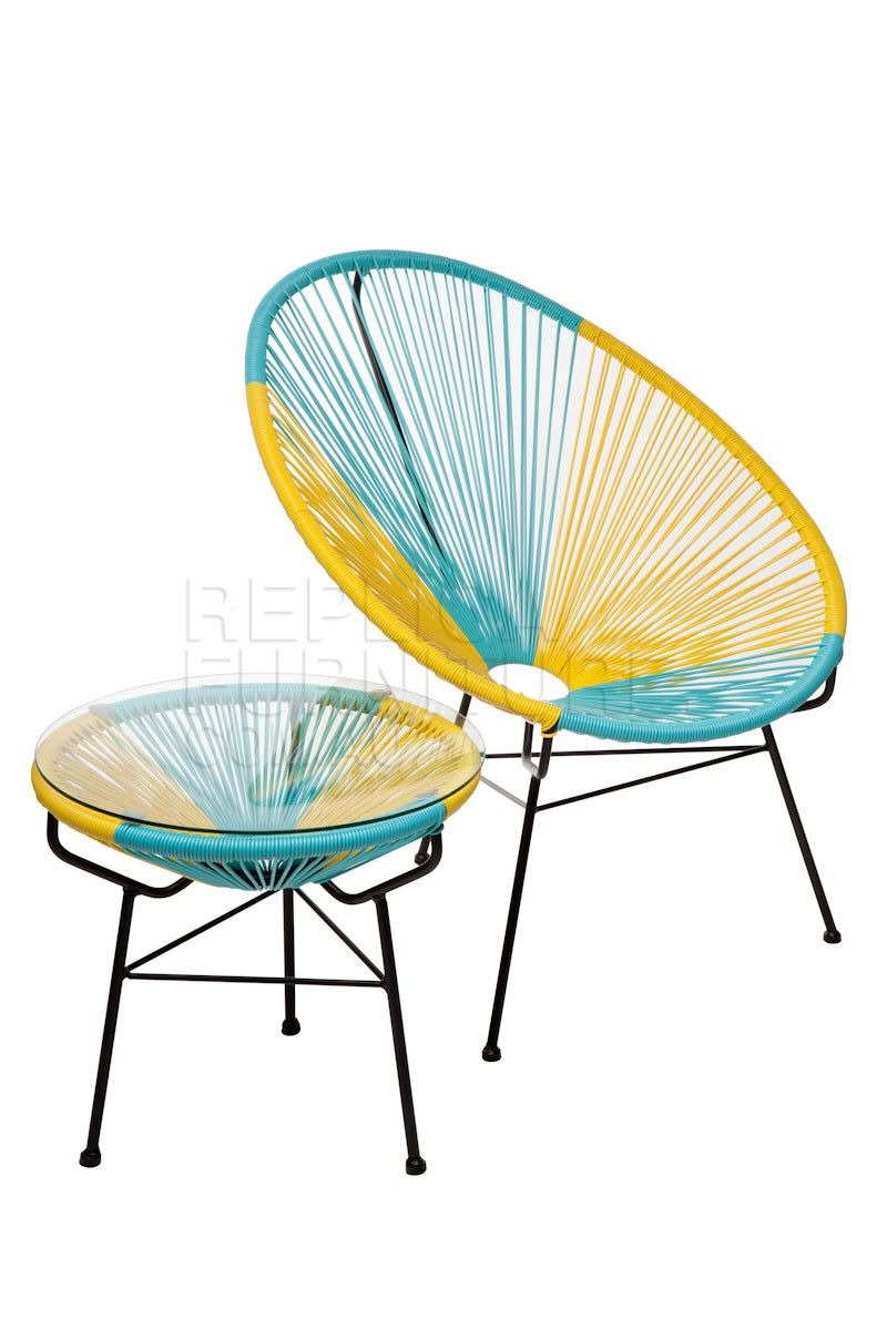 From my living room greenpoint works acapulco chair in leather meets - Replica Acapulco Chairs Australia Outdoor Chair