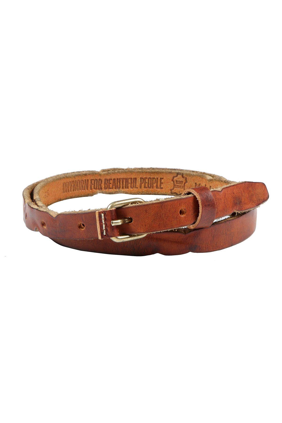 DRYKORN ~ GUERTEL Leather Belt ~ #MOMENTUMforbeautifulpeople