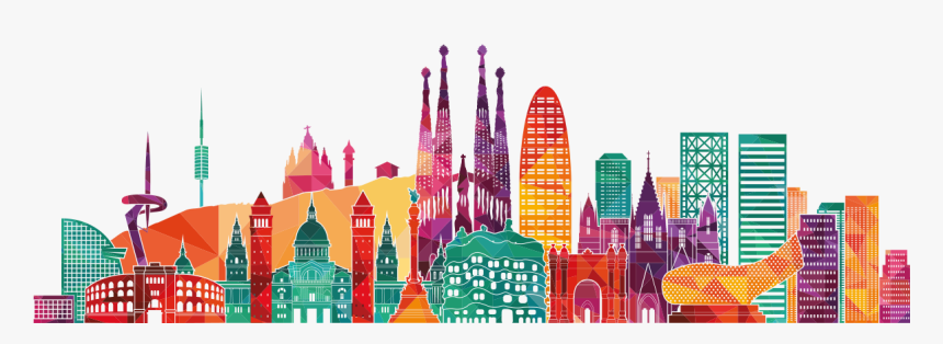 Barcelona Smart City Hd Png Download Is Free Transparent Png Image To Explore More Similar Hd Image On Pngitem Smart City City Logo Barcelona