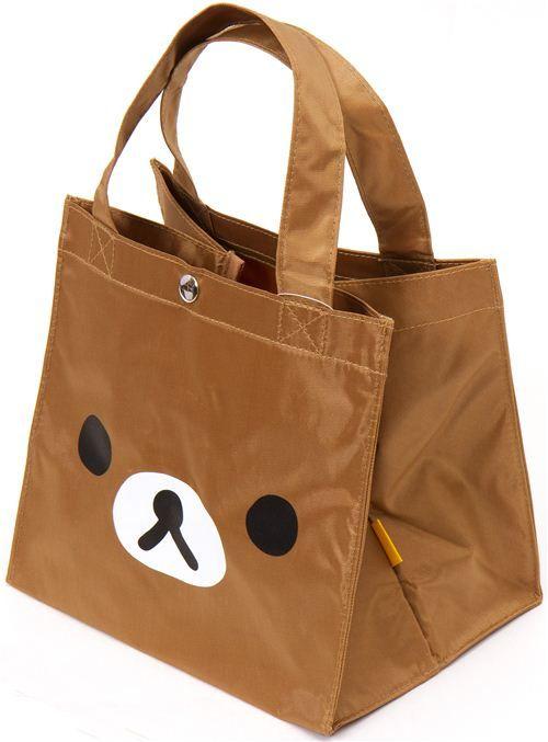8b20e1691081 kawaii Rilakkuma handbag with bear face San-X