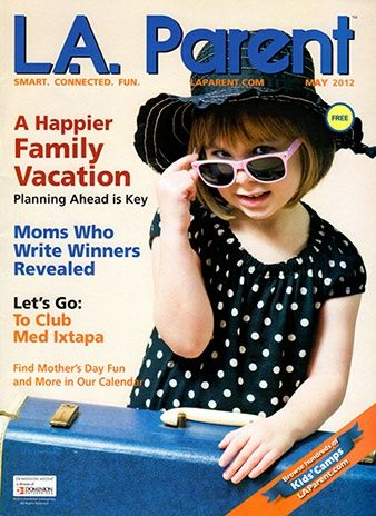 May cover of LA Parent!