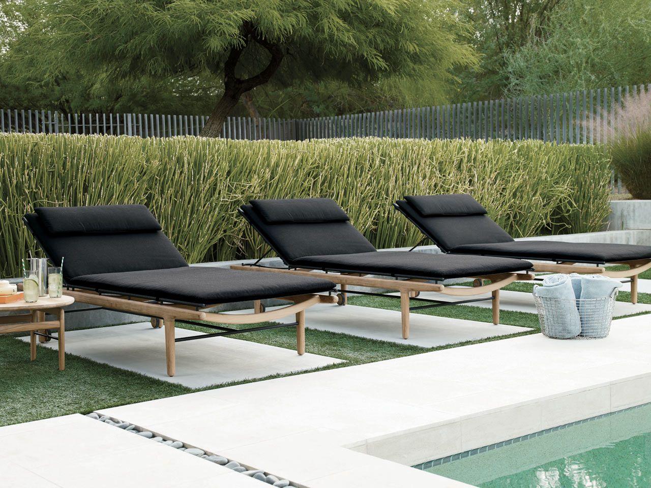 Pin On Design Deco Modern outdoor pool furniture