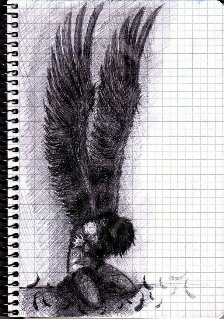 Pin by greekgeek124 on nico pinterest draw emo style and angel more drawings of angelsdark thecheapjerseys Image collections