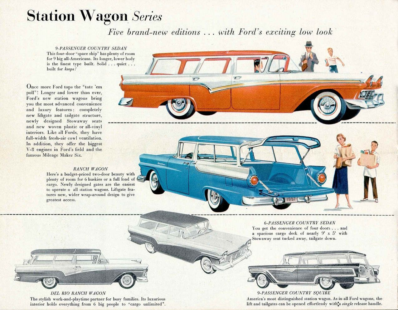 Ford Brochure Page    Ads For Us Cars