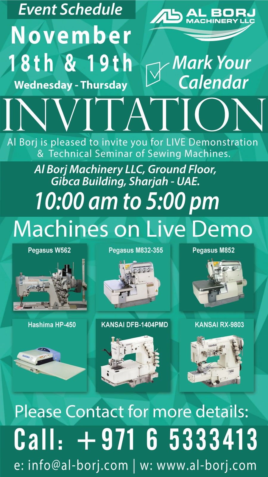 Invitation We Are Pleased To Invite You For Live Demonstration