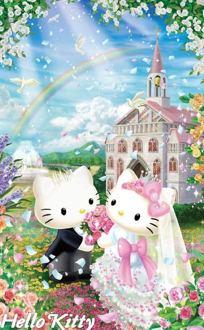 Pin On Hello Kitty N Friends Wallpapers