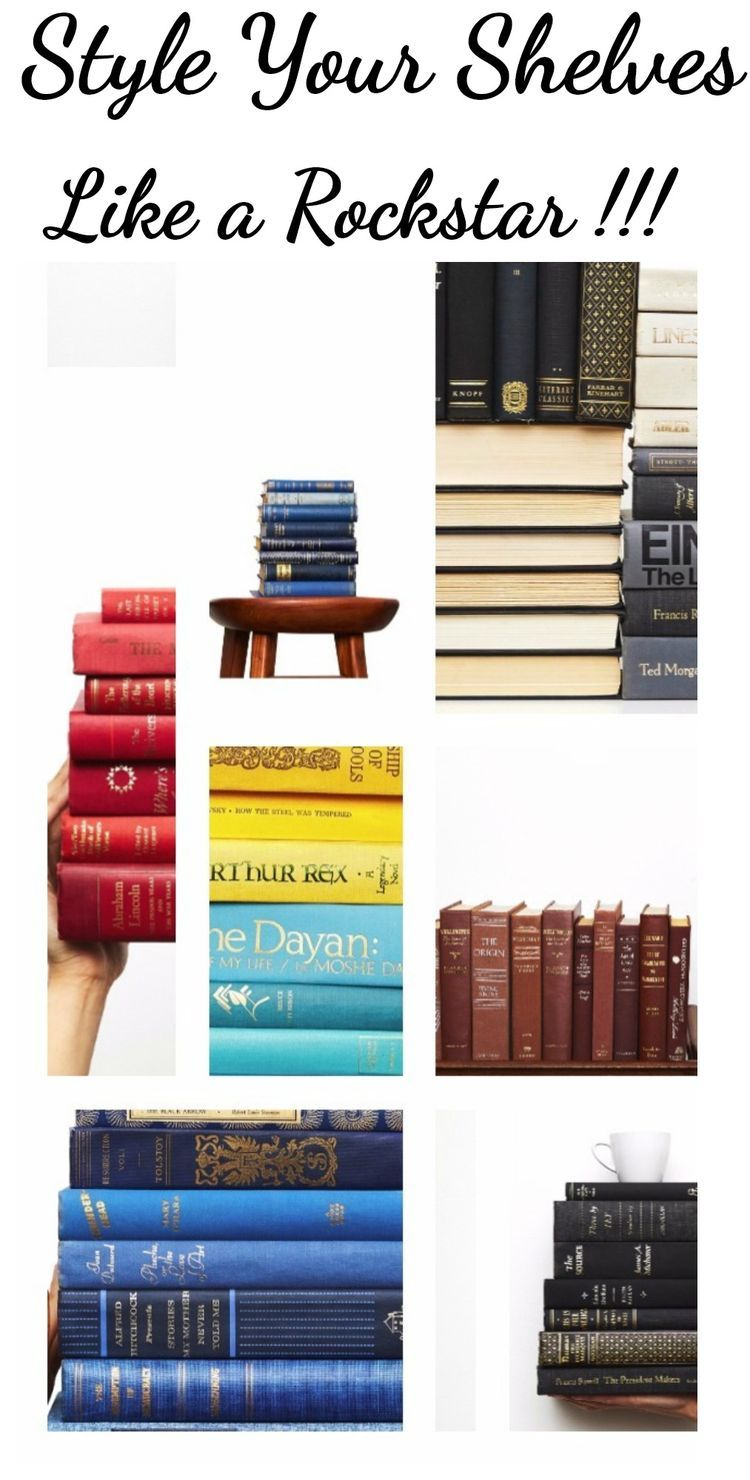 Decorative Book Sets Curated With Vintage Books Bookcase Ideas For Shelf Decor French Country