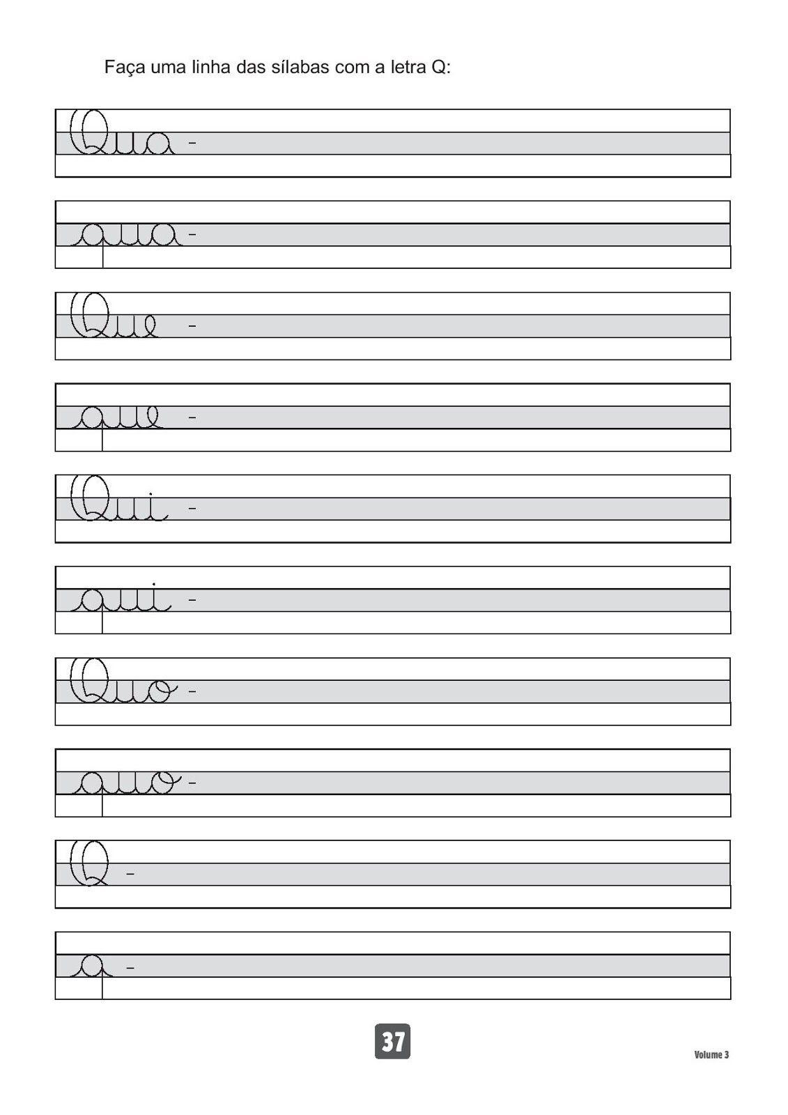 Atividades Para Imprimir Caderno De Caligrafia Atividades Para