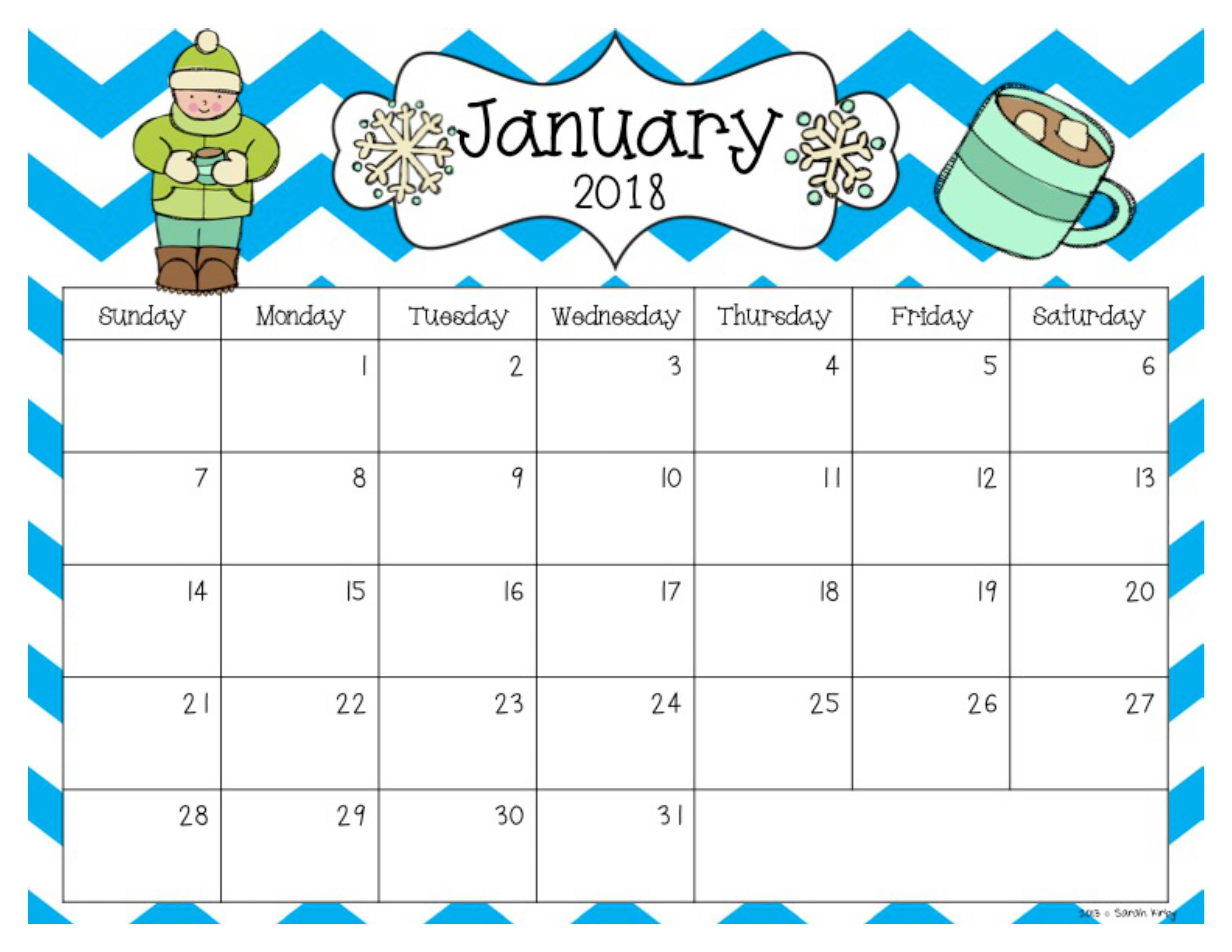 Free 2018 And 2019 Calendar Editable Calendar School Calendar