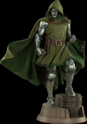 Marvel Dr Doom Premium Format Tm Figure By Sideshow Colle Sideshow Collectibles Super Heroi Estatua Modelos