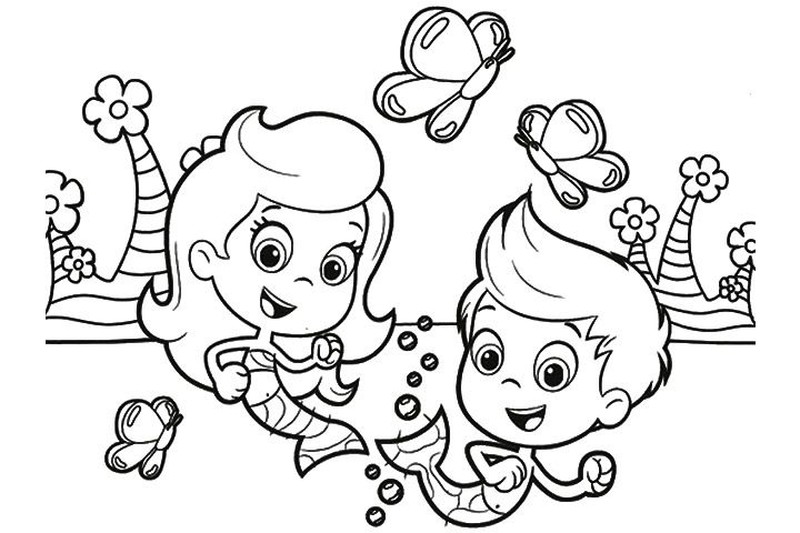 3 Bubble Guppies Coloring Page Bubble Guppies Coloring Pages